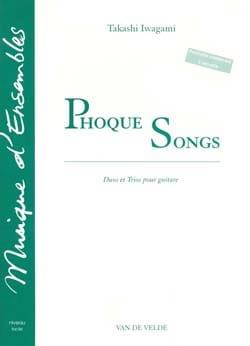 Phoque Songs - Takashi Iwagami - Partition - laflutedepan.com