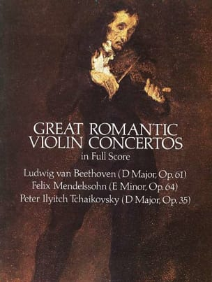 - Great Romantic Violin Concertos - Full Score - Sheet Music - di-arezzo.co.uk