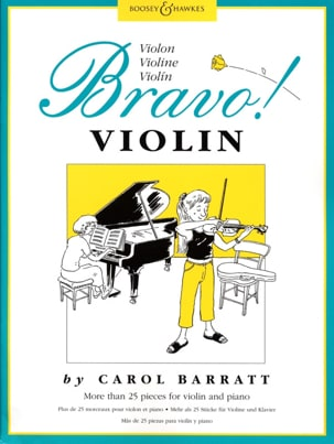 Bravo ! Violon - Carol Barratt - Partition - Violon - laflutedepan.com
