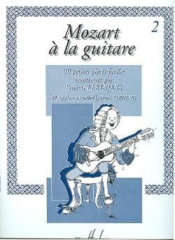Mozart Wolfgang Amadeus / Kleynjans Francis - Mozart à la guitare – Volume 2 - Partition - di-arezzo.fr