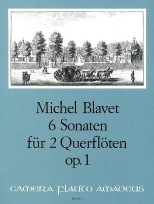 Michel Blavet - 6 Sonaten op. 1 – 2 Flöten - Partition - di-arezzo.fr