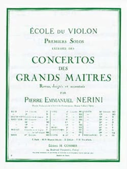 1er Solo du Concerto n° 13 Nerini laflutedepan