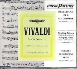 CD -Sonates Violoncelle Vol.2 - Antonio Vivaldi - laflutedepan.com