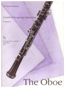 H. Nieuwenhuizen - A method for group instruction Oboe - Volume 1 - Partition - di-arezzo.fr