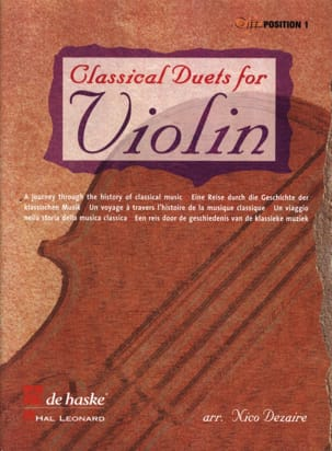 Nico Dezaire - Classical Duets for Violin - Sheet Music - di-arezzo.com