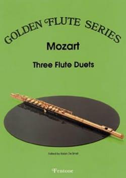 MOZART - 3 Flute Duets - Partition - di-arezzo.fr