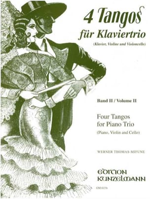 Werner Thomas-Mifune - 4 Tangos for Piano Trio, Volume 2 - Sheet Music - di-arezzo.co.uk