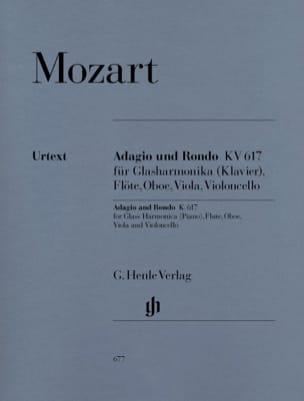 Adagio et Rondo KV 617 MOZART Partition Quintettes - laflutedepan