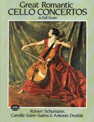 Great Romantic Cello Concertos - Conducteur Partition laflutedepan