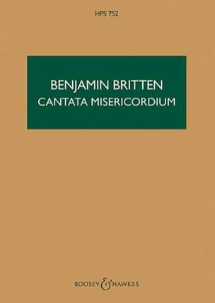 Benjamin Britten - Cantata misericordium op. 69 – Score - Partition - di-arezzo.fr