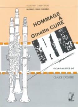 Claude Crousier - Hommage à Ginette Curé - Partition - di-arezzo.fr