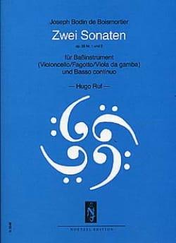 2 Sonates : op. 26 n° 1 et 2 BOISMORTIER Partition laflutedepan