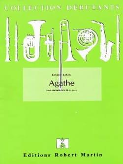 Fabrice Kastel - Agathe - Partition - di-arezzo.fr