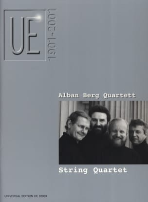 String Quartets - Partition - di-arezzo.fr