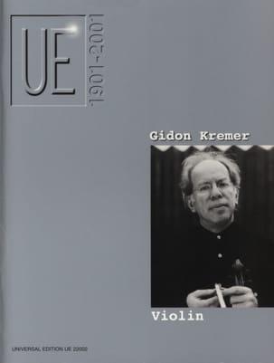 UE 1901-2001 - Gidon (éd.) Kremer - Partition - laflutedepan.com