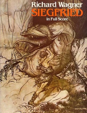 Richard Wagner - Siegfried - Full Score - Sheet Music - di-arezzo.co.uk