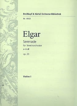 ELGAR - Serenade e-moll op. 20 - Complete material - Sheet Music - di-arezzo.co.uk