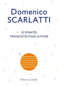 Domenico Scarlatti - 25 Sonatas - Sheet Music - di-arezzo.co.uk