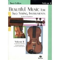 Samuel Applebaum - Beautiful Music, Volume 2 - 2 Cellos - Sheet Music - di-arezzo.co.uk