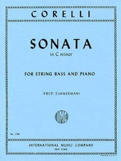 CORELLI - Sonata in C minor - String bass - Sheet Music - di-arezzo.com