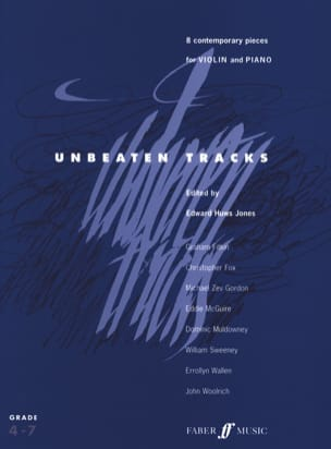Unbeaten Tracks - Violin Jones Edward Huws Partition laflutedepan