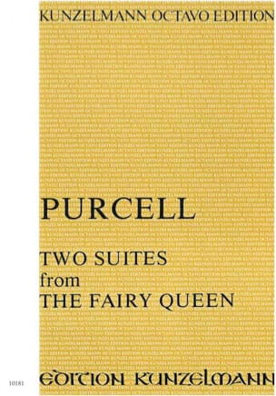 Two Suites from The Fairy Queen PURCELL Partition laflutedepan