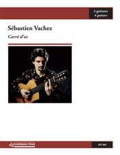 Carré D'as - Sébastien Vachez - Partition - Guitare - laflutedepan.com