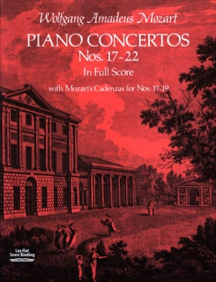 MOZART - Piano Concertos N ° 17-22 - Full Score - Sheet Music - di-arezzo.co.uk