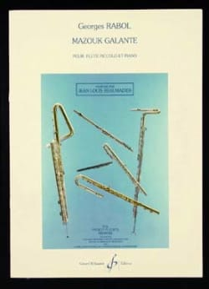 Georges Rabol - Mazouk galante - Partitura - di-arezzo.es
