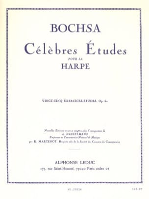 Charles Bochsa - 25 Exercises-studies op. 62 - Sheet Music - di-arezzo.com