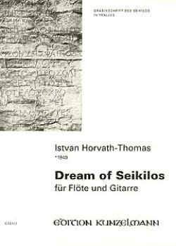 Dream of Seikilos - Istvan Horvath-Thomas - laflutedepan.com