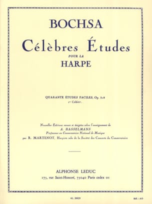 Charles Bochsa - 40 Easy studies op. 318 - Book 1 - Sheet Music - di-arezzo.com
