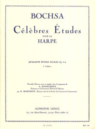 Charles Bochsa - 40 Etudes faciles op. 318 –Cahier 2 - Partition - di-arezzo.fr