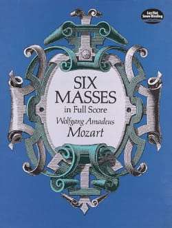 MOZART - 6 Masses - Full Score - Sheet Music - di-arezzo.co.uk