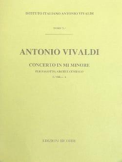 Concerto en mi min. - F. 8 n° 6 - Partitura - laflutedepan.com