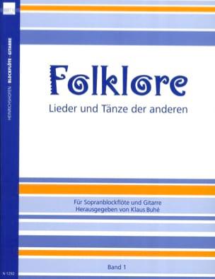 Folklore Volume 1 - Klaus Buhe - Partition - Duos - laflutedepan.com