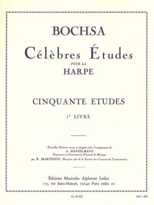 Charles Bochsa - 50 Etudes op. 34 – Livre 1 - Partition - di-arezzo.fr