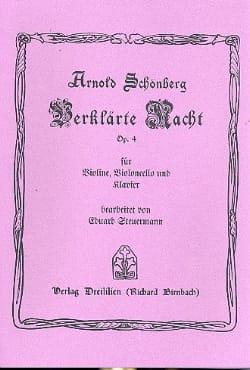 Arnold Schoenberg - Verklärte Nacht op. 4 - Klaviertrio –Stimmen - Partition - di-arezzo.fr