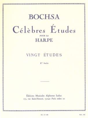 20 Etudes -1ère suite Charles Bochsa Partition Harpe - laflutedepan