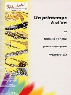 Kumiko Tanaka - Un printemps à Xi'an - Partition - di-arezzo.fr
