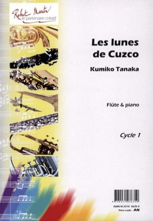 Kumiko Tanaka - Les lunes de Cuzco - Partition - di-arezzo.fr