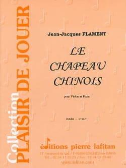 Le Chapeau Chinois Jean-Jacques Flament Partition laflutedepan