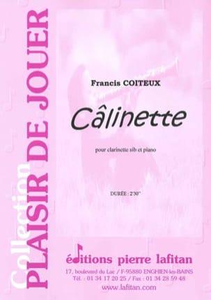 Câlinette Francis Coiteux Partition Clarinette - laflutedepan