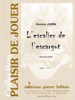 Patrice Jania - L'escalier de L'escargot - Partition - di-arezzo.fr