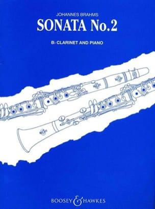 BRAHMS - Sonata n° 2 op. 120 - Clarinet piano - Partition - di-arezzo.fr