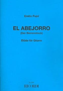 El Abejorro (Le Bourdon) - Emilio Pujol - Partition - laflutedepan.com