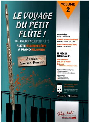 The Voyage of Little Flute - Sheet Music - di-arezzo.co.uk