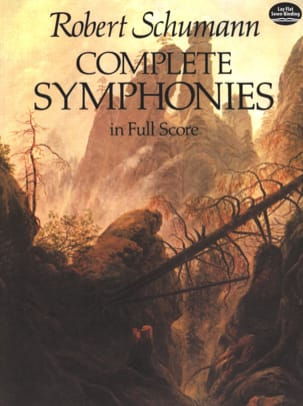 SCHUMANN - Complete Symphonies - Full Score - Sheet Music - di-arezzo.co.uk