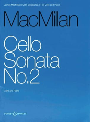 James MacMillan - Sonate n° 2 pour Violoncelle et Piano - Partition - di-arezzo.fr