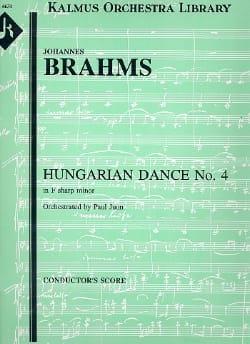 Hungarian dance n° 4 - Orchester - BRAHMS - laflutedepan.com